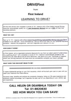 Certification for Joseph Lee - Driving Instructor